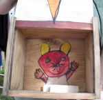 Wooden Box - Open